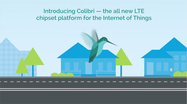 Colibri LTE Platform Chipset Solution for the Internet of Things