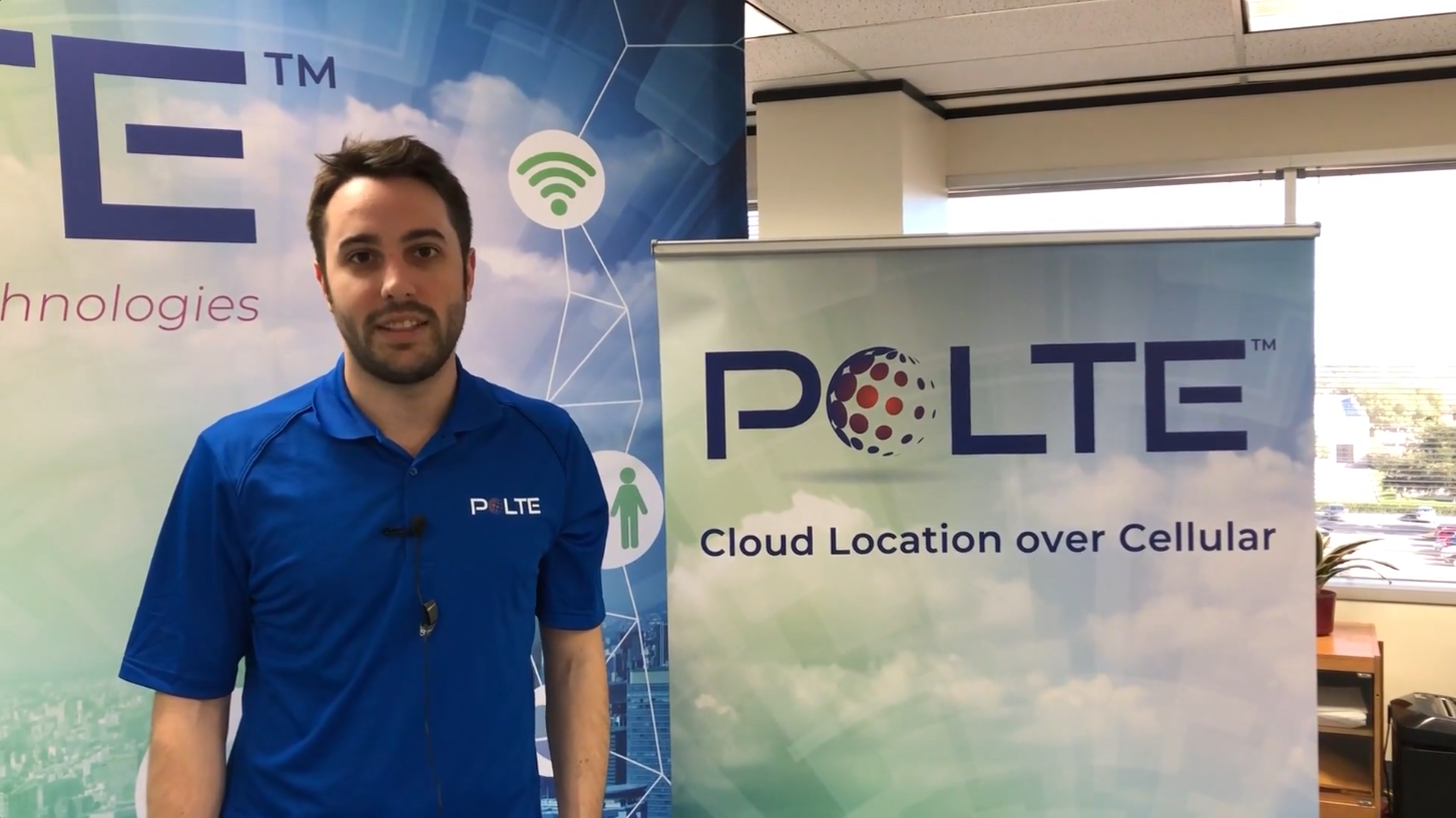 Sequans and Polte Demo – LTE Positioning at CES 2019