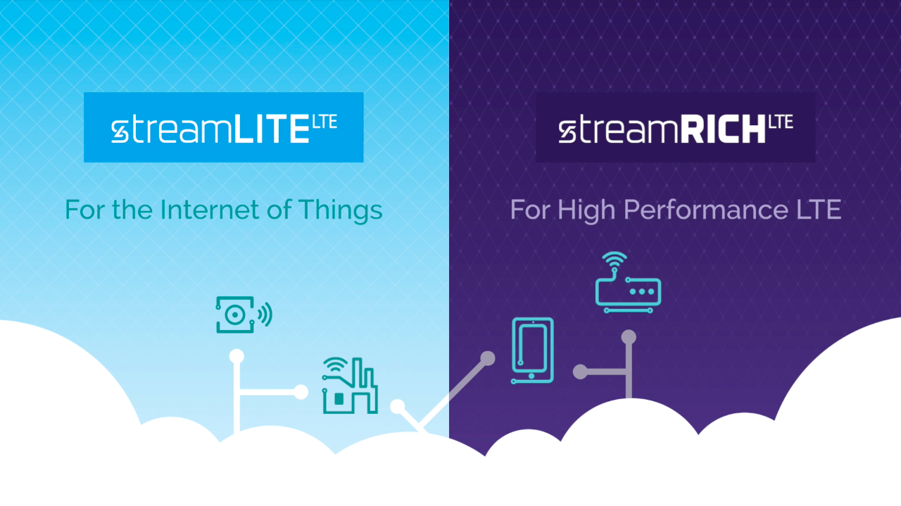 Sequans StreamliteLTE and StreamrichLTE Use Cases