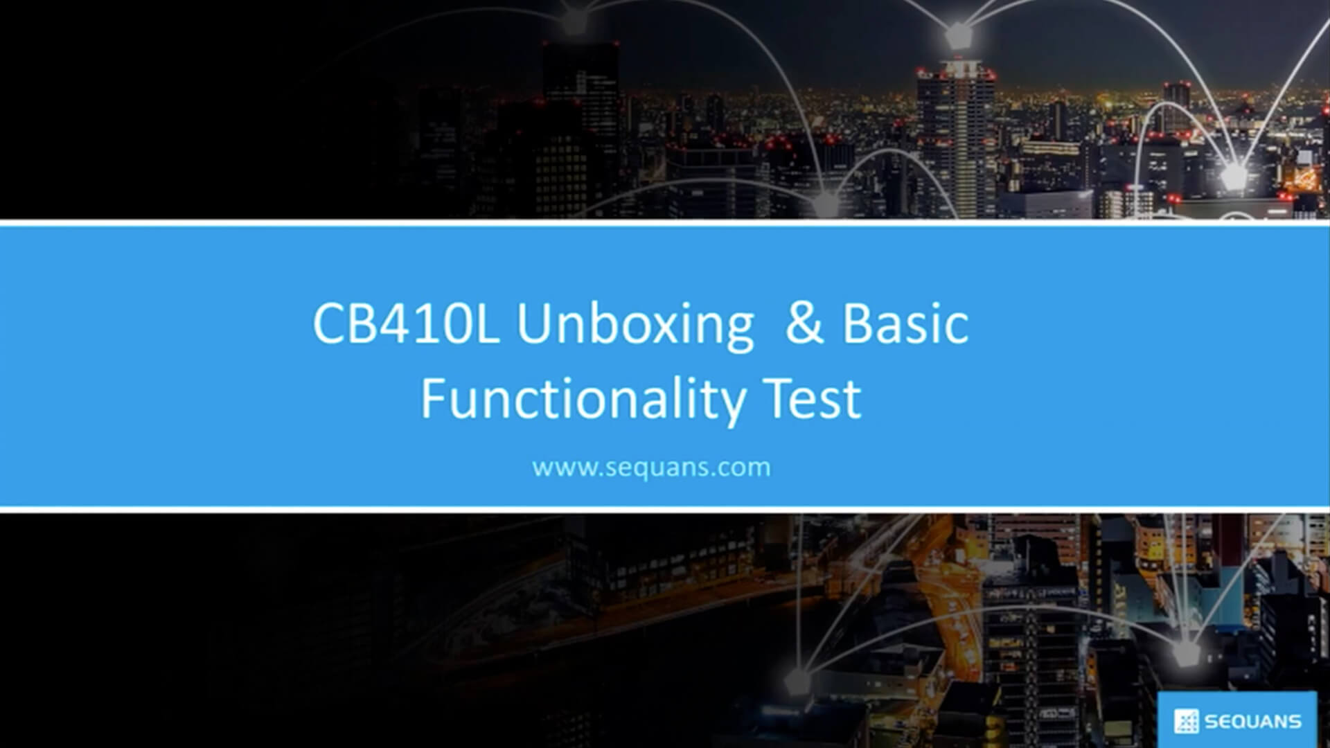 CB410L Unboxing and Basic Functionality Test