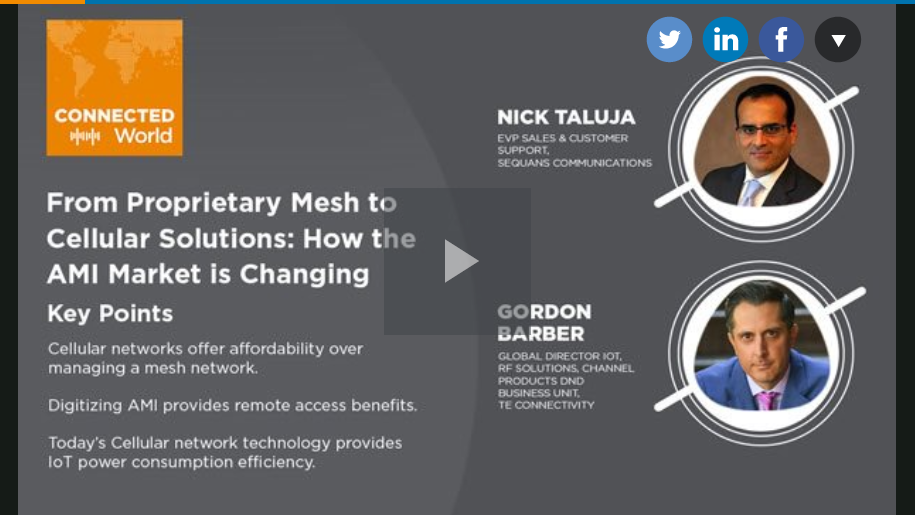 From Proprietary Mesh to Cellular Solutions:  How the AMI Market is Changing – Podcast
